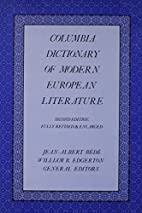 The Columbia Dictionary of Modern European…
