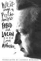 Writings on Psychoanalysis by Louis…