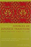 Keene, Donald: Sources of Japanese Tradition: From Earliest Times to 1600