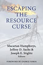 Escaping the Resource Curse (Initiative for…