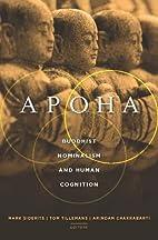 Apoha: Buddhist Nominalism and Human…