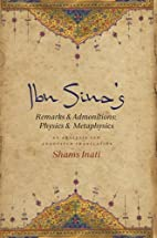 Ibn Sina's Remarks and Admonitions: Physics…