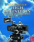 High Definition Cinematography, Third…