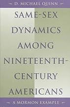 Same-Sex Dynamics among Nineteenth-Century…