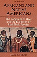 Africans and Native Americans: The Language…