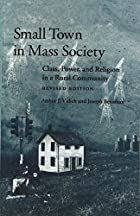 Small Town in Mass Society: Class, Power and…