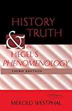 History and Truth in Hegel's Phenomenology…