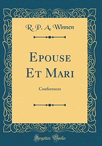 epouse-et-mari-conferences-classic-reprint-french-edition