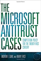 The Microsoft Antitrust Cases: Competition…