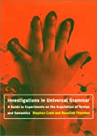 Investigations in Universal Grammar: A Guide…