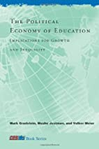 The Political Economy of Education:…