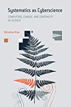 Systematics as Cyberscience: Computers,…