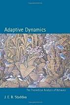 Adaptive Dynamics: The Theoretical Analysis…
