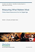 Measuring What Matters Most: Choice-Based…