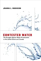 Contested Water: The Struggle Against Water…