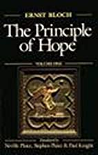 The Principle of Hope, Vol. 3 by Ernst Bloch