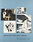 Architecture and Cubism by Eve Blau