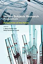 Human Subjects Research Regulation:…