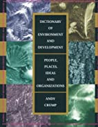 Dictionary of Environment and Development:…