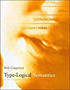 Type-Logical Semantics by Bob Carpenter