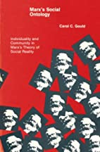 Marx's social ontology : individuality and…
