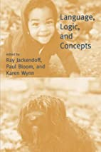 Language, Logic, and Concepts by Ray S.…