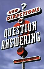 New Directions in Question Answering…