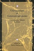 Universalism vs. Communitarianism:…