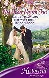 Davidson, Carolyn: Wed Under Western Skies (Historical Romance)