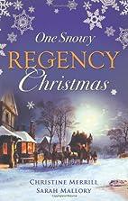 One Snowy Regency Christmas (A Regency…
