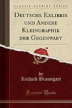 Deutsche Exlibris und andere Kleingraphik…