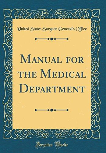manual-for-the-medical-department-classic-reprint