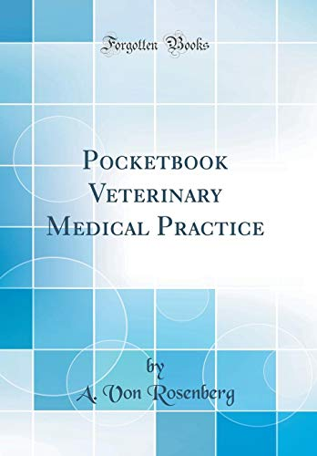 pocketbook-veterinary-medical-practice-classic-reprint