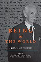 Being in the World: A Quotable Maritain…