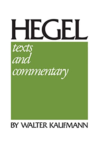 hegel-texts-and-commentary