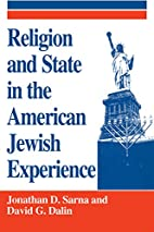 Religion and State in the American Jewish…
