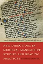 New Directions in Medieval Manuscript…