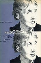 Continuing Presences: Virginia Woolf's…