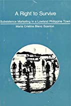 A right to survive; subsistence marketing in…