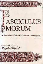 Fasciculus Morum: A Fourteenth-Century…