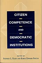 Citizen Competence and Democratic…