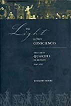 The light in their consciences : early…
