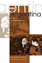 A History of Argentina in the Twentieth…