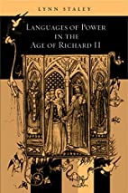 Languages of Power in the Age of Richard II…