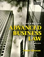 Advanced Business Law by Denis Keenan