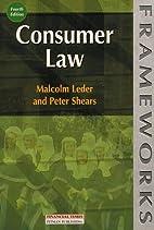 Consumer Law by Malcom Leder