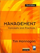 Management: Concepts & Practices (5th…