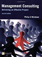Management Consulting: Delivering an…
