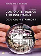 Corporate Finance and Investment: Decisions…