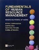 Torrington, Derek: Fundamentals of Human Resource Management: Plus MyManagementLab Access Code: Managing People at Work